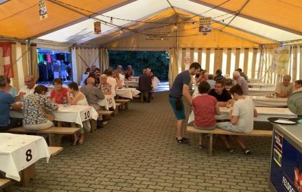 Alljährich findet in Kirchberg der Schnittersonntag statt.