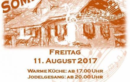 Freitag, 11. August 2017 / 3 Chöre konzertieren auf dem Bauernhof